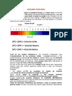 EQUILIBRIO ÁCIDO 3 Control de Lectura