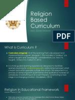 Religion Based Curriculum - Idham
