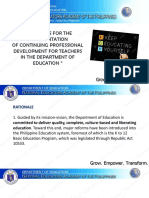 1. Deped Cpd Guidelines