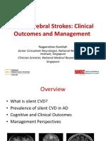 Silent Cerebral Strokes Clinical Outcomes Management P2 Dr Nagaendran