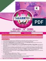Tallentex paper