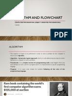 2_Algorithm and Flowchart