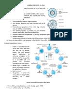 General Properties of Virus