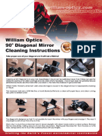 william optics diagonal limpieza