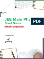 Electrostatics Notes for Iit Jee 33 PDF