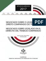 Negociado Sobre o Legislado No Direito Comparado Do Trabalho