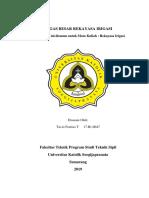 laporan irigasi