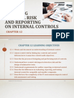 Assessing Control Risk and Reporting on Internal Controls