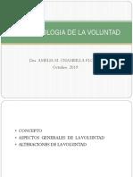 PSICOPATOLOGIA DE LA VOLUNTAD.pptx