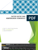 Faktor-faktor yang mempengaruhi komunikasi-1.ppt