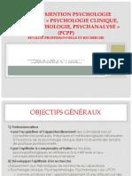 presentation master psychologie