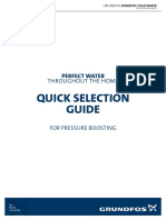 Grundfos Quick Selection Guide