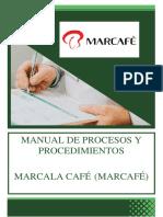 Manual de Procesos y Procedimientos MARCAFE