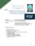 Proyecto Sistemas Digitales