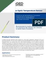 LSENSR Rugged Fiber Optic Temperature Sensor, For High Voltage Environments | RM