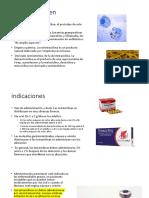 Tetraciclinas Historia e Indicaciones
