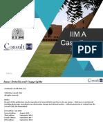 Consult Club IIMA Casebook - 2018