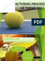 Manufacturing Processes of Tennis Ball