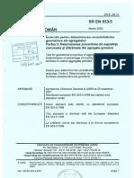 SR EN 933-5:2009 - Incercari pentru determinarea caracteristicilor geometrice ale agregatelor. Partea 5