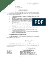 Chan - Affidavit of Loss