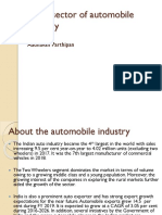 Retail Sector of Automobile Industry
