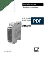 RM4220 Amplifier