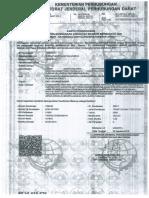 Kartu Pengawas PPLI (F 8938 K)