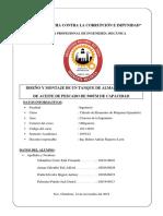 Tanque de Aceite Trabajo Grupal (Paralelo) 2 Unidad 14-11-19