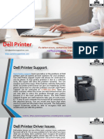 How do I update my Dell printer driver?