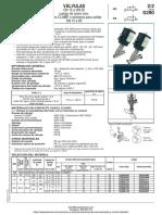 Valvula Conexion Clamp Serie s290 Asco