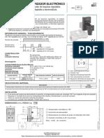 Temporizador Electronico Serie 881 Asco