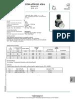 Regulador de Agua Serie 342 Asco