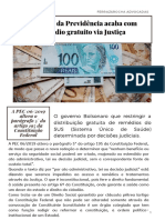 Reforma da Previdência vai reduzir distribuição de remédios pelo SUS