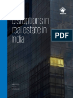 Disruptions in Real Estate in India