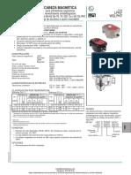 Cabeza Magnetica Atex Serie Lpkf Asco