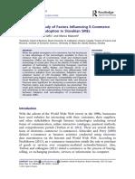 An Empirical Study of Factors Influencing E-Commerce