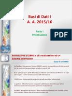 Basi di Dati I - 2015-16 - Parte I.pptx