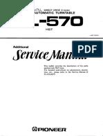 Pioneer Pl-570 Sm