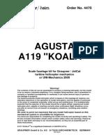 A119 koala Fuselage kit