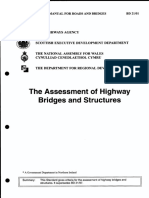 Assessment of highway bridges and structures