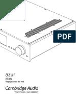 Azur 851N Users Manual Spanish
