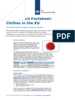 2013 Pfs Chillies in the Eu - Spices and Herbs
