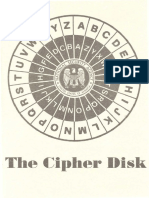 The Cipher Disk-op