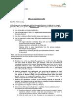 Offer Cum Appoinment Letter -Pittala Raviteja 5242