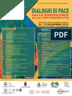 Programma Convegno Internazionale - Dialoghi Di Pace