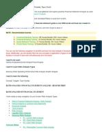FS Ratio Analysis