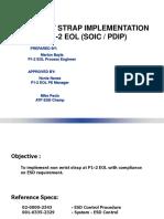 Non Wrist Strap Implementation at p1-2 Eol Rev2