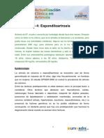 Caso Clínico 4_ Espondiloartrosis
