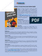 Dream India Technologies is the best way to learn Spoken English