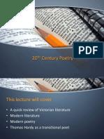 20th Century Poetry